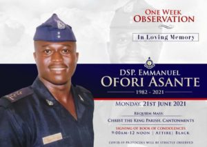Ghana FA delegation calls on family of late DSP Ofori Asante