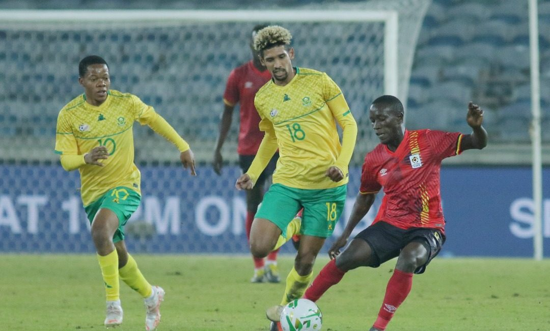 Black Stars World Cup qualifiers opponents South Africa beats Uganda in friendly