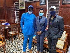 Gabby Otchere-Darko donates to Accra Great Olympics