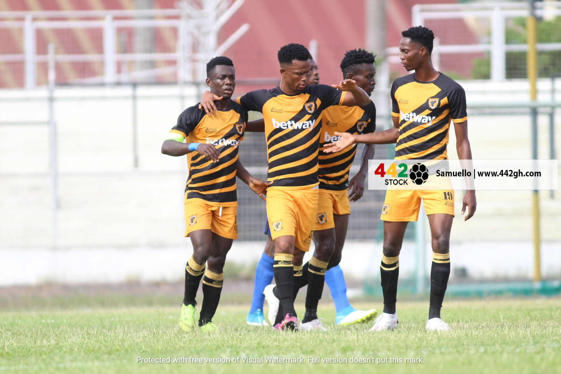 20/21 Ghana Premier League matchday 30: Ashgold recover from a goal down to hammer Liberty 5-1
