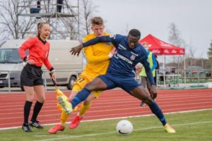 Paide Linnameeskond defender Ishaku Konda delighted with Europa Conference League qualification
