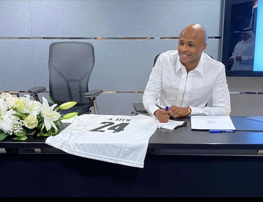 BREAKING NEWS: Ghana captain Andre Ayew seals move to Qatari giants Al Sadd SC