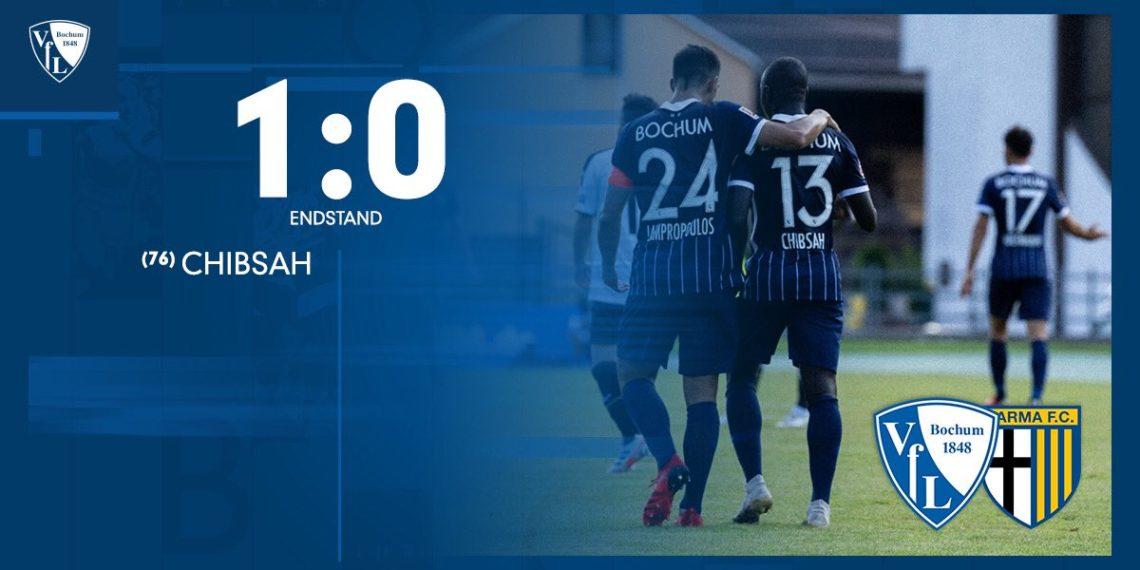 Raman Chibsah nets for VFL Bochum against Parma
