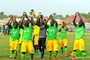 20/21 Ghana Premier League Matchday 32: Aduana Stars defeat AshGold 1-0 to inch closer to top four