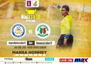 Women's FA Cup: Mansa Hommey to officiate final