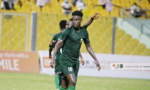 Elmina Sharks striker Benjamin Boateng arrives in Egypt ahead of Al Ittihad Alexandria move