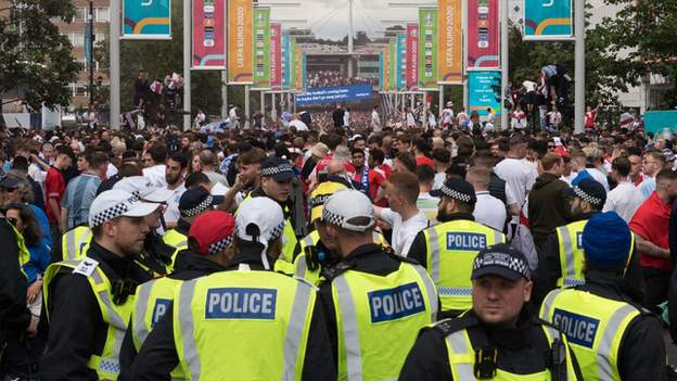 'Lawless yobs' caused Wembley trouble
