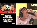 """""""PLAYERS WOULD LEAVE WITH SWOLLEN FOREHEADS !"""" Perry Grove discusses the dangers of Heading"""
