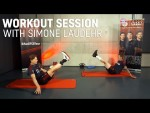 Workout Session with Simone Laudehr