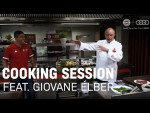 FC Bayern Cooking Session with Giovane Élber