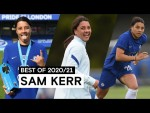 Electric On The Pitch, Composed In Front Of Goal   Sam Kerr   Best Of 2020/21