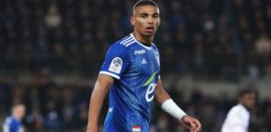 Ghanaian defender Alexander Djiku shown red card as Strasbourg lose to PSG