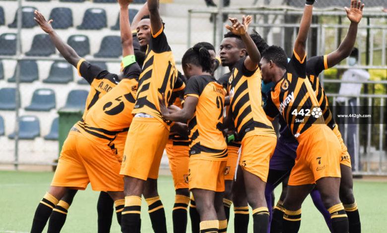 20/21 Ghana Premier League matchday 34: Ashgold hammer relegated Inter Allies 7-0