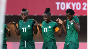 Barbra Banda proud to break Olympic record with Zambia