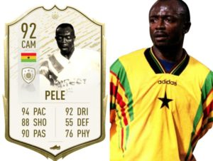 Abedi Pele may get an icon feature on the new FIFA 22