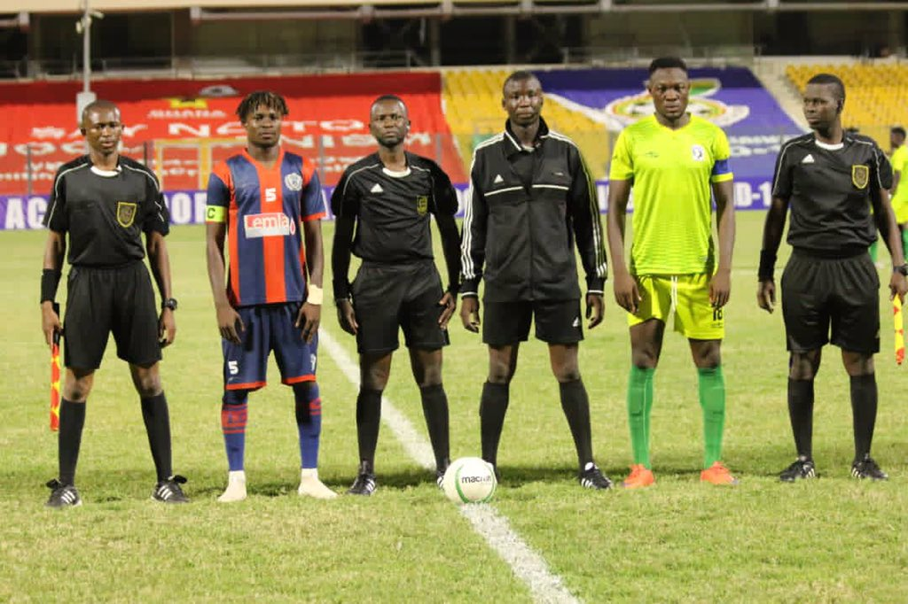 GPL HIGHLIGHTS: Bechem Utd hold Legon Cities to a 1-1 draw in Accra