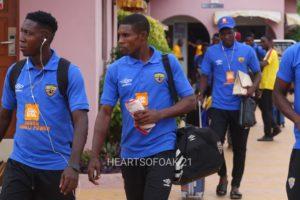 Hearts of Oak arrive in Sogakope ahead of WAFA clash to lift League title