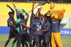 Accra Lions book promotion to Ghana Premier League with big win against Danbort
