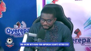Nana Yaw Amponsah: We have already earned $900,000 from sponsorship deals