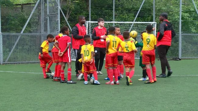 The fastest growing grassroots club in Manchester named after EK Afranie