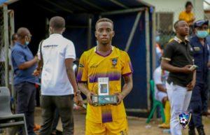 Ghana Premier League: Ebenezer Ackahbi adjudged MVP in Medeama win over Elmina Sharks