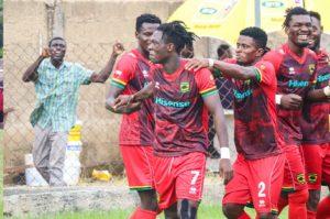 GPL HIGHLIGHTS: Asante Kotoko lose to Elmina Sharks in final round of matches
