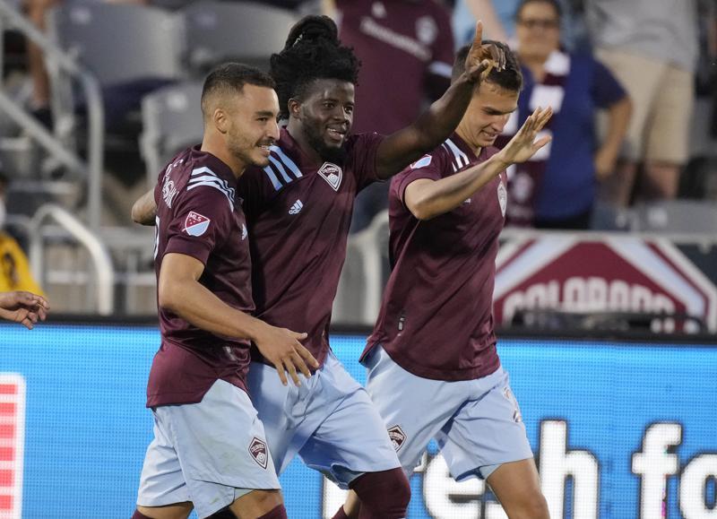 Ghanaian defender Lalas Abubakar scores to help Colorado Rapids defeat FC Dallas 2-0