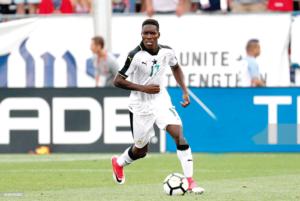 Ghana full-back Lumor Agbenyenu signs for Greek outfit Aris Thessaloniki