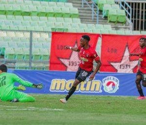 Ghanaian forward Osei Bonsu scores for Caracas FC in win over Lala FC in Venezuela Primera Division