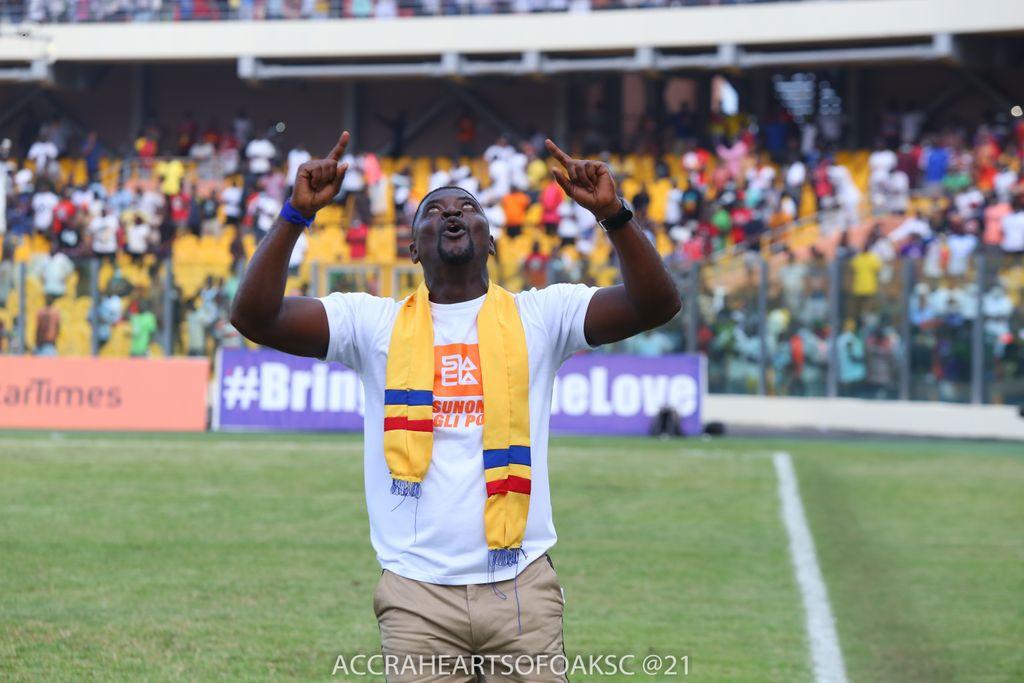We are determined to make an impact in Africa - Hearts of Oak coach Samuel Boadu