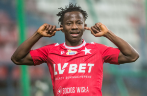 Ghana attacker Yaw Yeboah stars with goal and assist to help Wisla Krakow hammer Zaglebie
