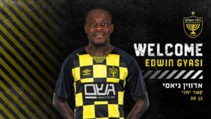 Confirmed: Ghana winger Edwin Gyasi joins Israeli club Beitar Jerusalem