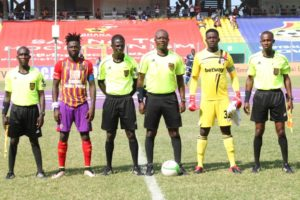 Referee for Hearts of Oak v Liberty Professionals match charged with misconduct
