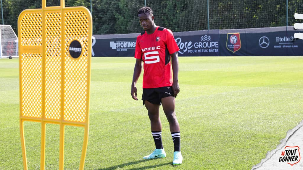 Ghanaian forward Kamaldeen Sulemana pledges to score plenty goals at Stade Rennais