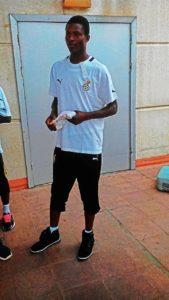 Ghana Beach Soccer goalie Daniel Addo Goka hospitalized after fatal accident