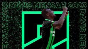 Serie B side Pordenone Calcio complete signing of Ghanaian winger Davis Mensah