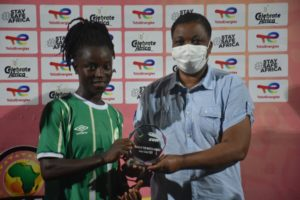 CAF Women's Champions League qualifier: Janet Egyir named Player of the Match as Hasaacas Ladies thump AS Police