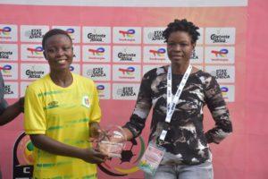 Hasaacas Ladies midfielder Stellar Badu named Player of the Match against USFA