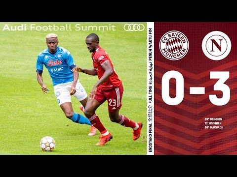 FCB loses in the test match vs Neapel   Highlights FC Bayern vs. SSC Neapel 0-3