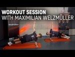 Workout Session with Maximilian Welzmüller