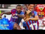 FIRST AWAY PRE-SEASON MATCH VLOG   Stuttgart 0 -3 Barça