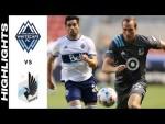 HIGHLIGHTS: Vancouver Whitecaps FC vs. Minnesota United FC   July 31, 2021