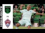 HIGHLIGHTS: Austin FC vs. Colorado Rapids   July 31, 2021