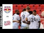 HIGHLIGHTS: New York Red Bulls vs. New England Revolution   July 31, 2021