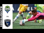 HIGHLIGHTS: Seattle Sounders FC vs. San Jose Earthquakes | July 31, 2021