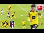 Impressive BVB win against Bologna | Borussia Dortmund vs. FC Bologna 3-0 | Highlights