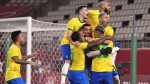 Brazil hold nerve to reach Olympic final after shootout win