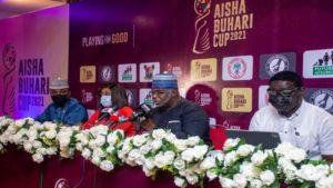 FIFA approves Aisha Buhari Cup, tournament to start 15 September