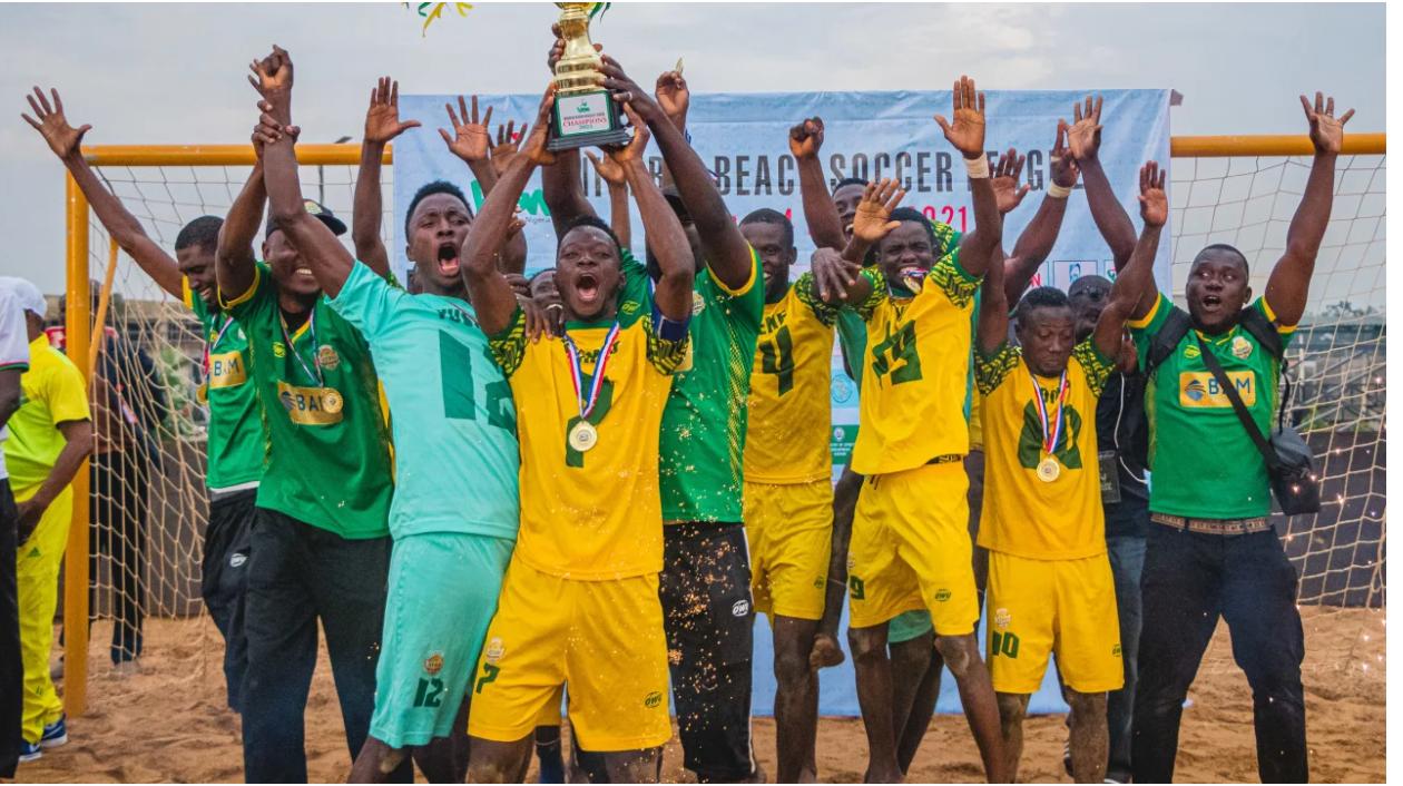 Kebbi BSC are inaugural Nigerian Beach Soccer League champions
