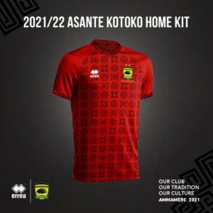 VIDEO: Giants Asante Kotoko unveil new home jersey for 2021/2022 football season